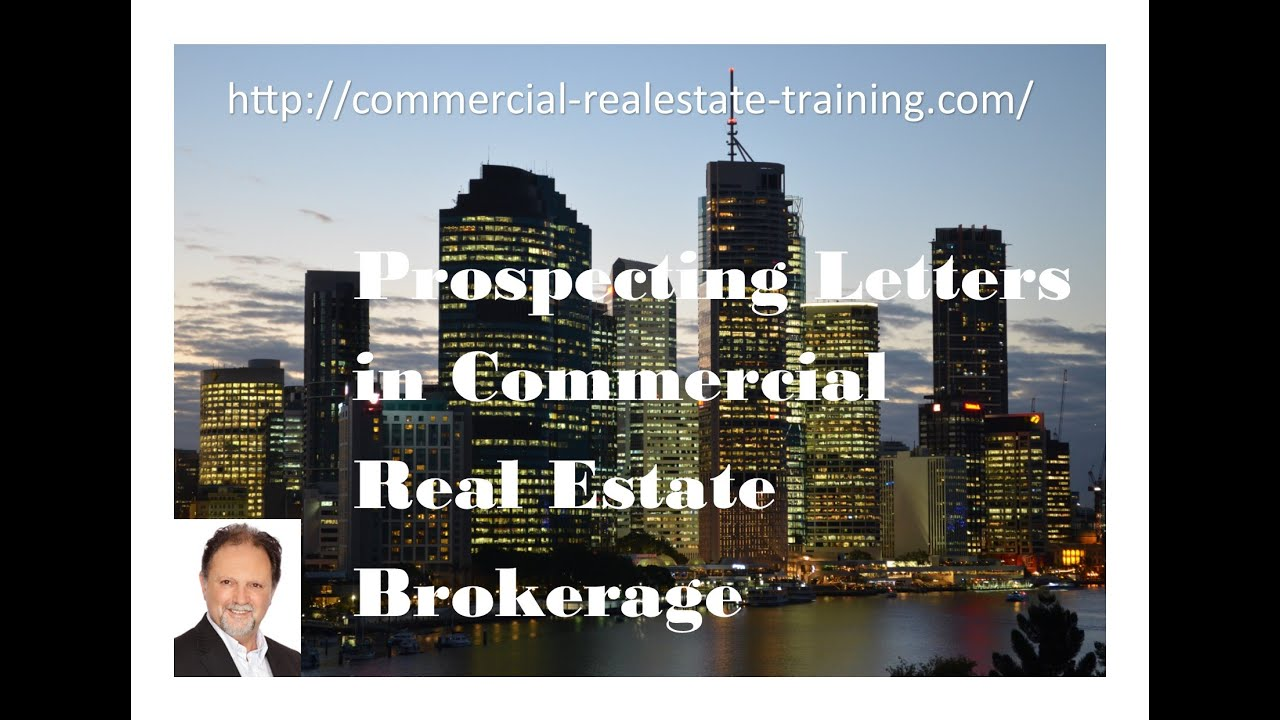 prospecting letter systems commercial real estate training online