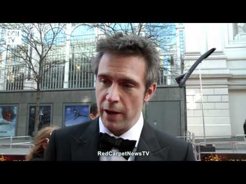 Jack Davenport Interview - Smash - Olivier Awards 2012