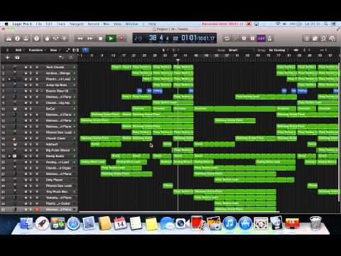 Logic pro x electro music