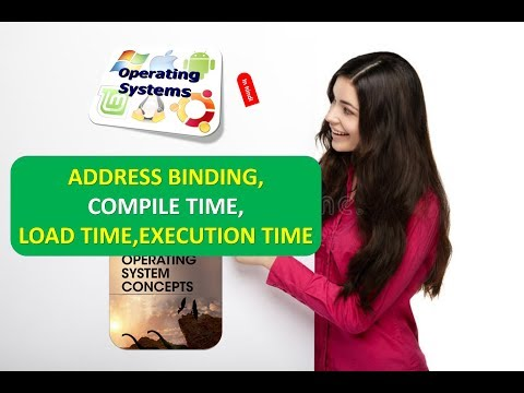 WHAT IS ADDRESS BINDING,COMPILE TIME,LOAD TIME,EXECUTION TIME IN OPERATING SYSTEMS IN HINDI