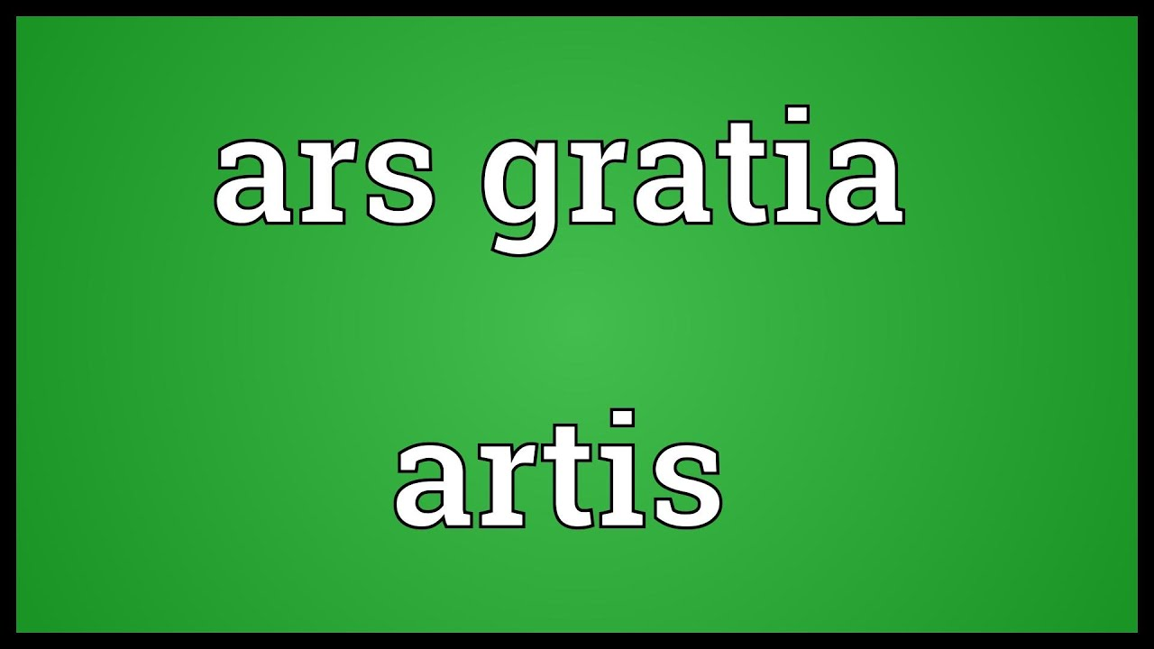 ars gratia artis meaning youtube