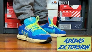 "HONEST REVIEW OF THE ADIDAS ZX TORSION ""BRIGHT CYAN""!!! + OTHER ADIDAS OUTLET STEALS!!!!"