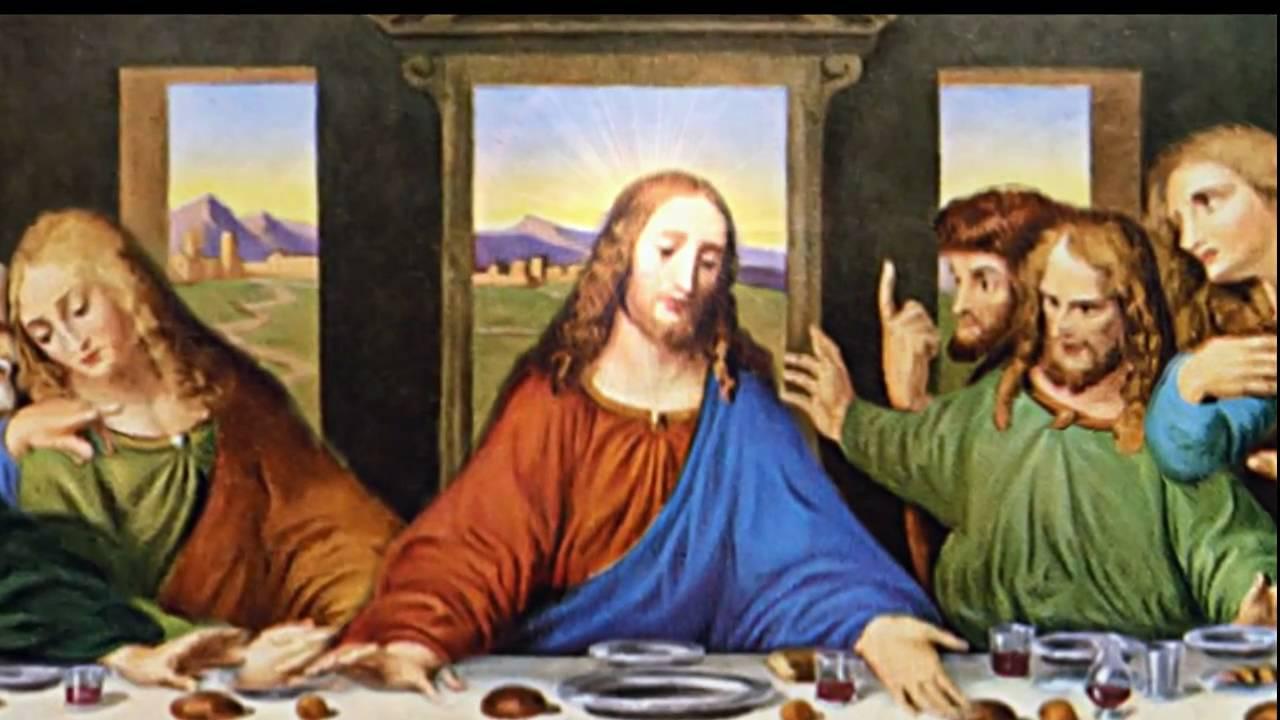 last supper animated painting by leonardo davinci youtube