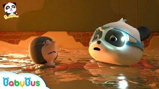 두더지 아저씨 구해줘요!|키키묘묘 구조대 출동~!|베이비버스 인기동화 연속보기|BabyBus