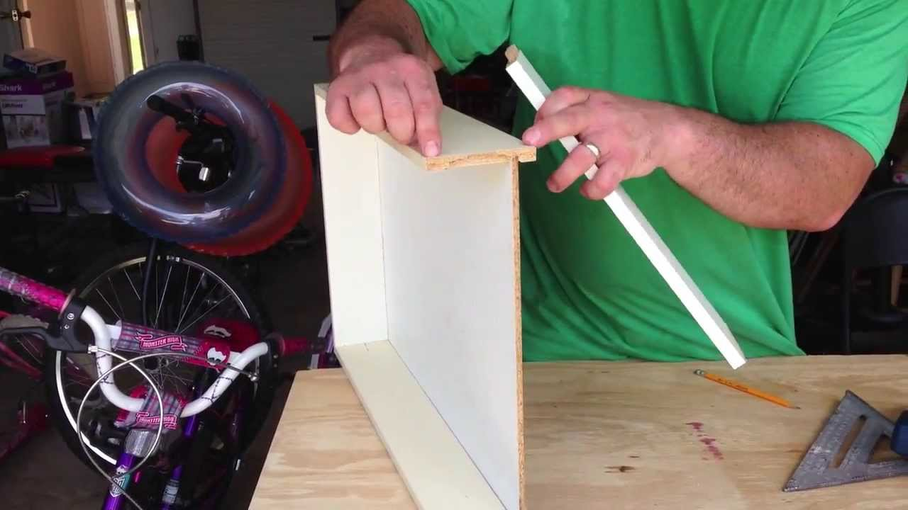 How To Fix A Broken Drawer Particle Board Drawer Repair