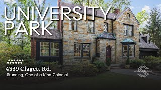 4339 Clagett Rd., University Park, MD 20782 - Stunning, One of a Kind Colonial