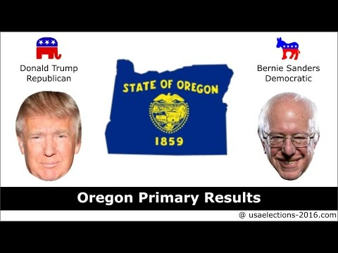 Oregon Primary Result 2016 : US Election 2016