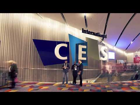 Interactive Lamp Installation for Bosch @ CES 2015, Las Vegas