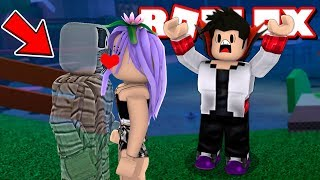 A HORNY GHOST KISSED FRANZINHA in the Deathrun Roblox