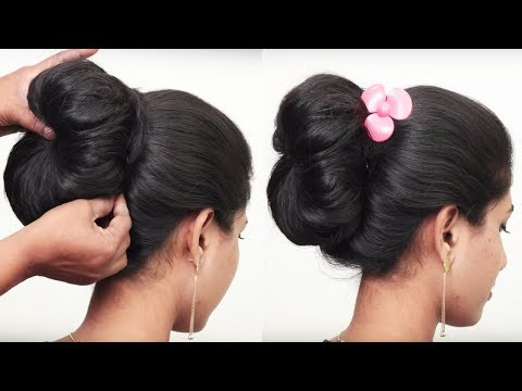How to Do Bridal Bun Hairstyle for Long Hair