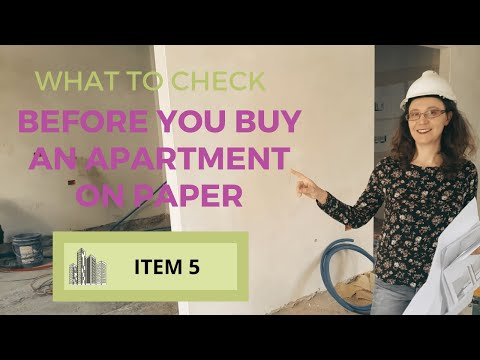 What to Check Before You Buy an Apartment On Paper [Item 5]