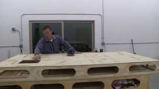 Building The Paulk Workbench Part 11: Installing The Bottoms And Prepping For Saw Horses