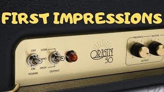 Marshall Origin 50 - First Impressions