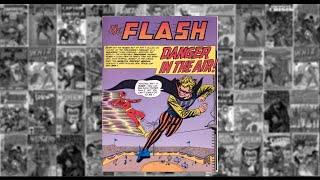 "The Flash: ""Danger In The Air"" - The Flash #119 March 1961"