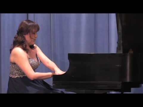 Works by Beethoven and Granados performed by Jieun Kim, pian
