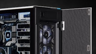 CORSAIR Carbide Series 678C is a mid-tower ATX case with sophisticated style and serious versatility