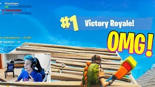 NINJA & DRAKE DUO WIN in FORTNITE: BATTLE ROYALE ( Ninja & Drake Get a Victory Royale!)