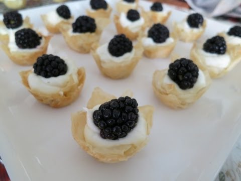 Mini Phyllo Tarts   Simply Bakings - Featuring Eat Now, Cry Later