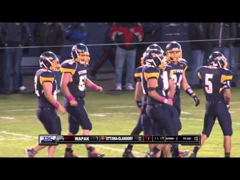 2015-10-16 | HS Football Broadcast | Wapakoneta at Ottawa-Glandorf