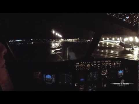 SBBR RWY11L WET - Brasília APPROACH STORM NIGHT