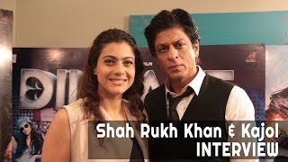 SRK  and Kajol Dilwale Interview
