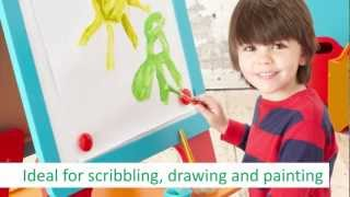 Early Learning Centre - Wooden Double Sided Art Easel