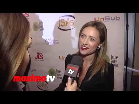 Christine Lakin Interview 5th Annual INDIE Series Awards #ActingDead