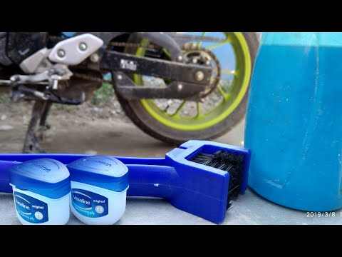 HOW TO CLEAN BIKE CHAIN AT HOME| TRAP WHEEL