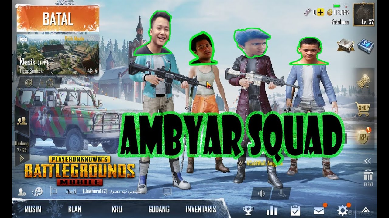 Ambyar Squad Rusuhin Bootcamp Playerunknown S Battlegrounds