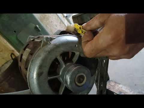 подключение двигателя от Вятка автомат разными способами.