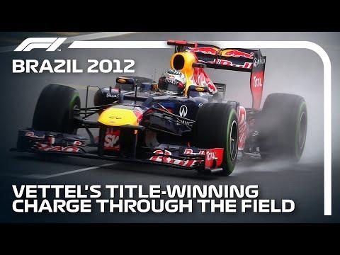 Sebastian Vettel's Championship Charge   2012 Brazilian Grand Prix