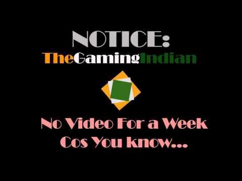 Notice || TheGamingIndian