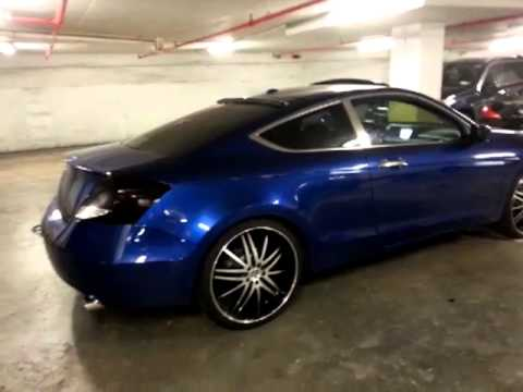 2008 Honda Accord Headlights 2011 Honda Accord Coupe/Tinted Tail-Lights - YouTube