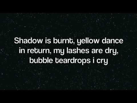 Lady GagaPaparazziLyrics on screen