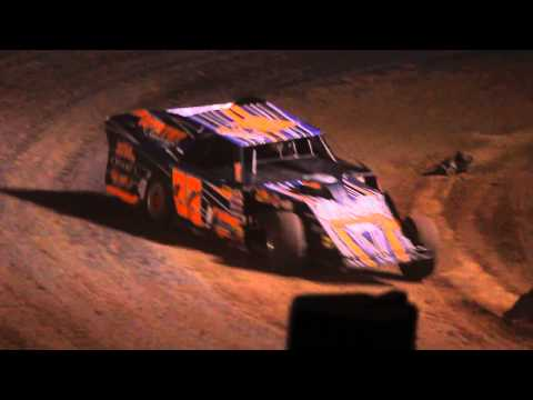 8-5-2014 Rice Lake Speedway Modified Feature Jeff Spacek