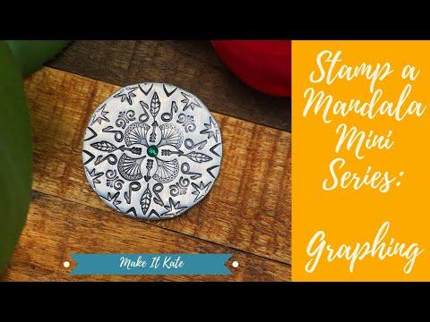 Metal Stamping a Mandala Miniature Mini Series (Part 1)