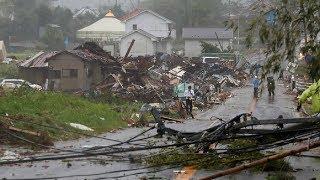 Siêu bão Hagibis mạnh nhất Thế kỷ tấn công vào Nhật Bản gây thiệt hại nặng nề như thế nào?