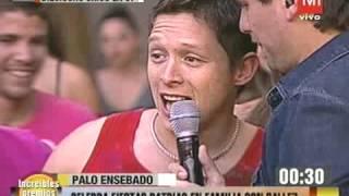 TVN   Calle 7   Fernanda y la fuerte cachetada que le dio a JC