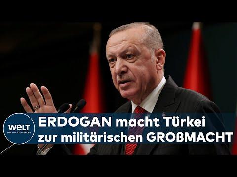 SIEG IN KARABACH-KRIEG: Recep Tayyip Erdogan - Blanke Mann von Bosporus punktet mit Militär