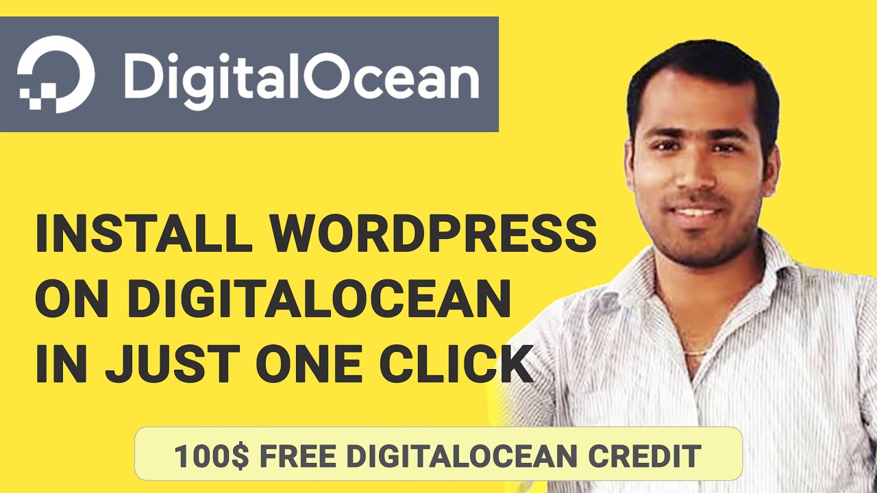 How to Install WordPress One-Click Application on DigitalOcean