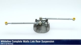 Mustang Whiteline Complete Watts Link Rear Suspension (05-14 Coupe) Review