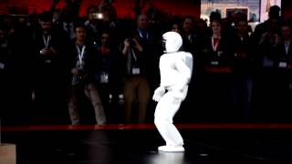 Honda Asimo Robot Will Replace Humans - 2014 NY International Auto Show