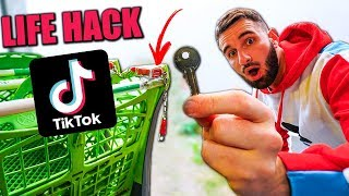 JE TESTE DES ASTUCES LIFE HACKS TIKTOK ! #2
