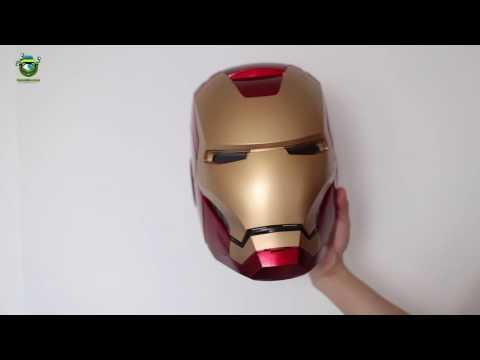 Hasbro Marvel Legends Iron Man Helmet - Sound Effects