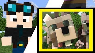 WHAT IF GRIM IS A REAL DOG?!  TALE | How I Met Grim Dog | Minecraft - Best DanTDM Animation