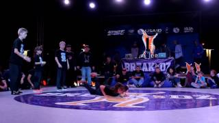 Finał młodzików na BREAKIDZ 2016: Kharkov vs Belaya Tserkov