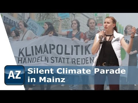 Silent Climate Parade in Mainz