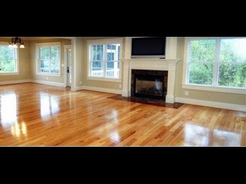 how to use a broom to clean wooden floor - youtube