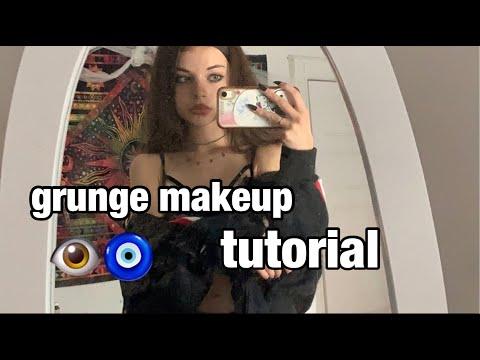 my ~grunge~ makeup tutorial :p