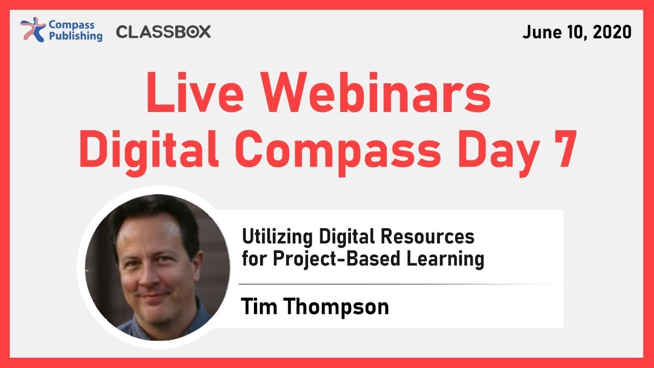 Digital Compass Day 7 – Online Webinars
